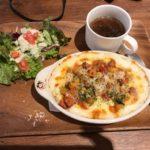 夏野菜とベーコンのトマト煮込みドリア【リベロ】