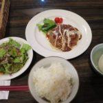 牛タンハンバーグ定食【ボア・セレスト】