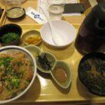 一度で二度味わえる真鯛の胡麻だれ丼【築地食堂 源ちゃん 赤坂店】