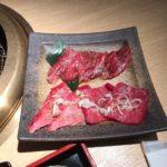名店焼肉カルビ&ロース合盛りランチ【焼肉芝浦 赤坂 別邸】