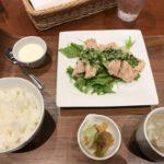 冷製蒸し鶏の葱ソースがけ定食【China Dining SAKURA】