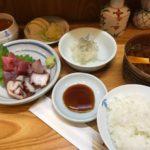 小料理屋の刺身定食【一休】