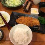 キャベツ食べ放題ロースカツ定食【新宿さぼてん 山王パークタワー店】