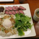 国産ブランド淡路牛のローストビーフプレート【百菜】