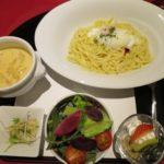 つけ麺風和風カルボナーラ【FRENCH JAPONEZE Maruyama】