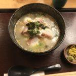 絶品鯛茶漬け【串揚げと和食 323】