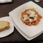 美味。モッツァレラとトマトソースのリガトーニ【CERBAIA】