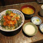 海鮮丼オンリーのランチ【魚百 赤阪出張所】