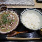 大阪料理、肉じる定食【赤坂 和寿 (カズ) 】