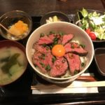 コスパ高いハラミ丼【錦えもん 赤坂見附本店】